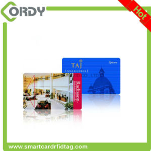 Glossy finish MIFARE Classic 1k RFID card with 8H10D number printed pictures & photos