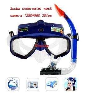 Special Underwater Scuba Mask Camera with High Resolution pictures & photos