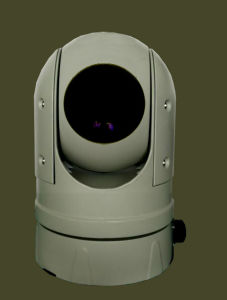 Outdoor Thermal PTZ HD 4k 3840 X 2160@30fps 1920X1080@60fps Camera with 100mm Upto 3km Thermal Detection Laser Assisted pictures & photos