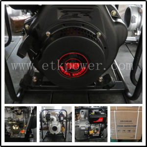 """4"""" Diesel Water Pump with Large Fuel Tank pictures & photos"""