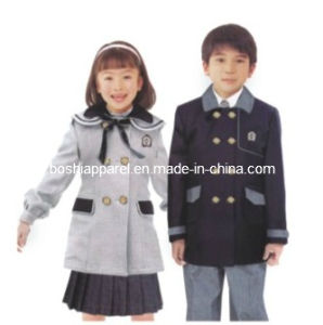 2012 New Design Primary School Uniform for Winter -Su44 pictures & photos