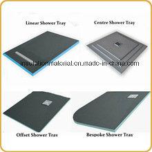 Customed Waterproof Lightweight XPS Shower Tray Foam Board