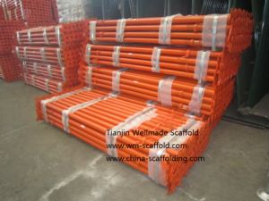 Adjusting Steel Scaffolding Jack Vertical Pipe Support Prop pictures & photos