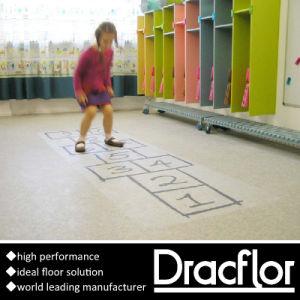 PVC Roll Flooring Plastic Floor Covering (F-2101) pictures & photos