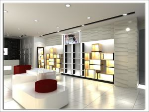 Interior Decoration Design for Shoes Store
