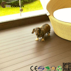 Coowin Manufacturer Waterproof Outdoor Wood Composite WPC Decking (TW-02) pictures & photos