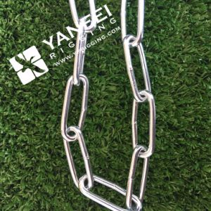 Zinc Plated Galvanized DIN763 Long Link Chain pictures & photos