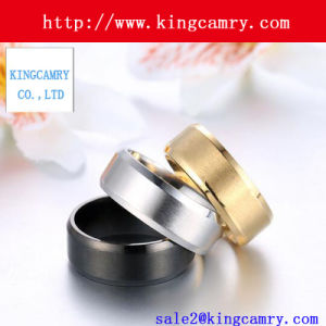 Custom Fashion Accessories Popular Silver Stainless Steel Rings pictures & photos
