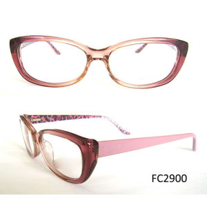 2015 Top Elegant Acetate Frame Glasses for Young Lady pictures & photos