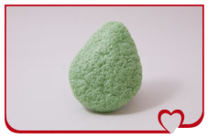 Wholsale 100% Natural Konjac Sponge Green Tea Beauty Face Cleaning Sponge pictures & photos