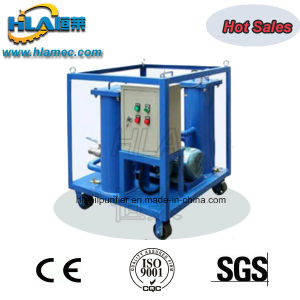 Portable Triple Stages Filter on Line Waste Oil Purifier Plant pictures & photos