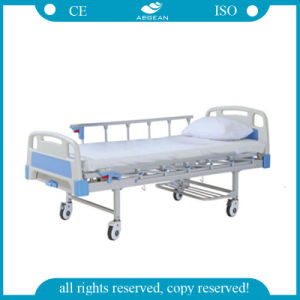 (AG-BYS203) 1-Crank Manual Hospital Bed pictures & photos