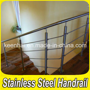Stainless Steel Pipe Stair Handrail (Keenhai-007) pictures & photos