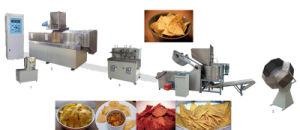 High Capacity Fried Flour Bugles Machine pictures & photos