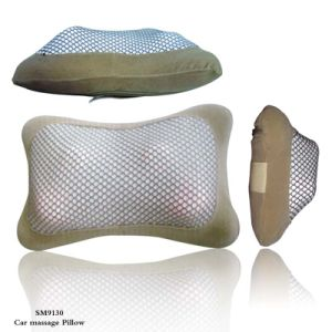 Portable Car Back Massage Pillow (SM9130) With Heating Function