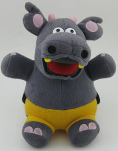 High Quality Plush Toy in Hippo Shape pictures & photos