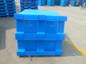 100% Closed Virgin HDPE Made Plastic Pallet for Cold Storage pictures & photos