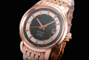 The High Quality Luxury Stainless Steel Watch with Swiss Movement pictures & photos