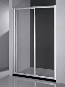 Tempered Glass Screen Shower Cabin Sliding Entry Shower Door Bathroom Shower Bathtub Door pictures & photos