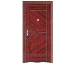 Swing Open Style Steel Security Door pictures & photos