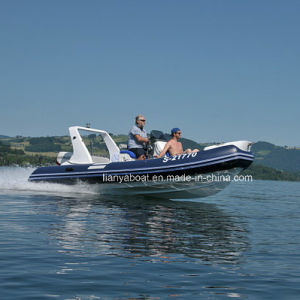 Liya 5.2m Rigid Inflatable Boat Rib Boat Made in China for Sale pictures & photos