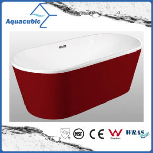 Bathroom Pure Acrylic Seamless Freestanding Bath Tub (AB6700R) pictures & photos