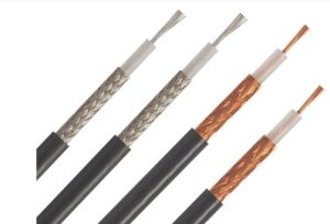 ETL RG6 Cu Coaxial Cable pictures & photos