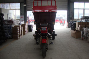 Hydraulic Closed Cabin Cargo Tricycle pictures & photos
