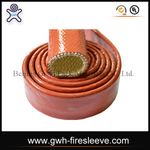 Fiberglass Silicone Sleeving pictures & photos