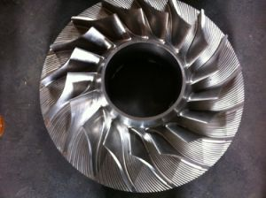 600mm CNC Machining Impeller Used for Gas Turbine