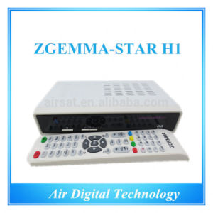 Dvbs2+DVB-C Model Zgemma-Star H1 Satellite Receiver No Dish pictures & photos