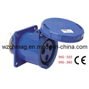Industrial Socket 2p+E 63A IP67 333