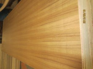 Teak Fancy Plywood in Natural Veneer