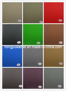 Good Quality and Design of Artificial Leather for Car Seat Cover (Hongjiu-418#) pictures & photos