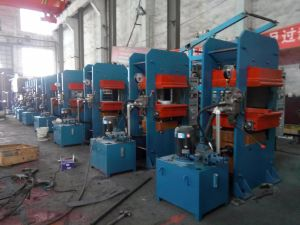 Silicone Rubber Molded Parts Plate Vulcanizing Press Machine Plant Factory Vulcanizer pictures & photos