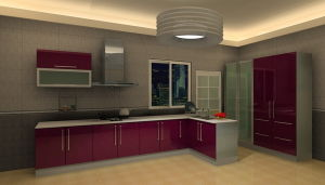 Stainless Steel Kitchen (MK041)