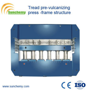 Frame Structure Tread Pre-Vulcanizing Press pictures & photos