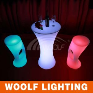 LED Glowing Plastic Bar Chairs pictures & photos