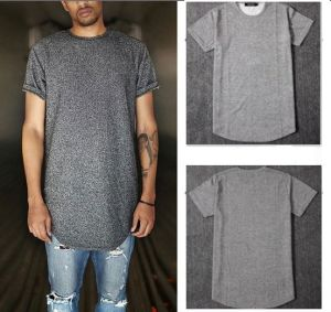 Grey Plain T Shirt Short Sleevs Men Casual pictures & photos