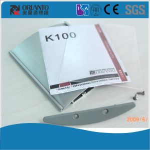 Aluminium K100 Curved Table Sign pictures & photos