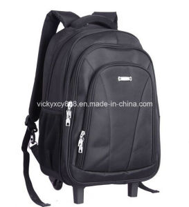Wheeled Laptop Computer Business Notebook Shoulder Backpack Pack Bag (CY6950) pictures & photos