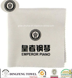 Professional Microfiber Piano Cloth with Printed Df-2849 pictures & photos