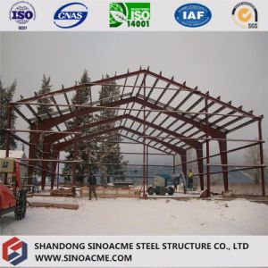 Portal Frame Steel Warehouse for Farm Vehicle Storage pictures & photos