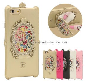 Factory New Design Fancy TPU Mirror Cell Phone Cover Cases for Samsung J2/J5/J7 with Stand Function pictures & photos