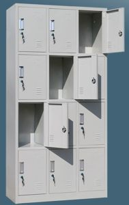 12-Door Steel Locker for Office Staff and School pictures & photos