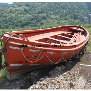 2ND Hand Used Fiberglass Boat in Stock pictures & photos