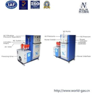 Food Package Filled with Nitrogen Gas Generator pictures & photos
