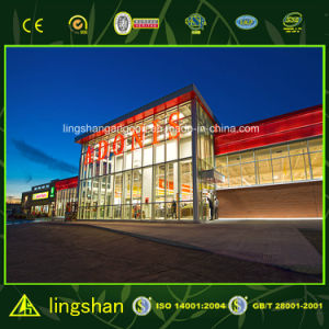 Prefabricated Modern Steel Supermarket Mall pictures & photos