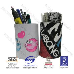 Classic Design Office Supply Neoprene Desk Pencil Holders pictures & photos