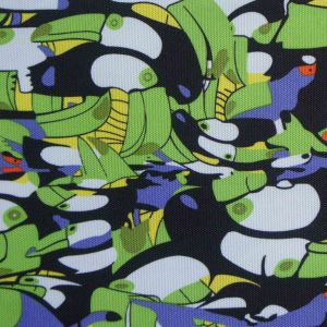600d High Density PVC/PU Woodpecker Polyester Printed Fabric pictures & photos